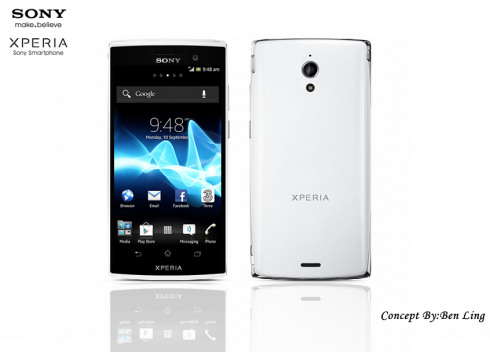 Sony Xperia X Concept by Ben Ling: 2 GB RAM, Quad Core Krait CPU and More