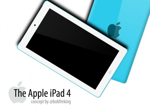 Apple iPad 4 Designed by Bob Freking; Yes, Already!