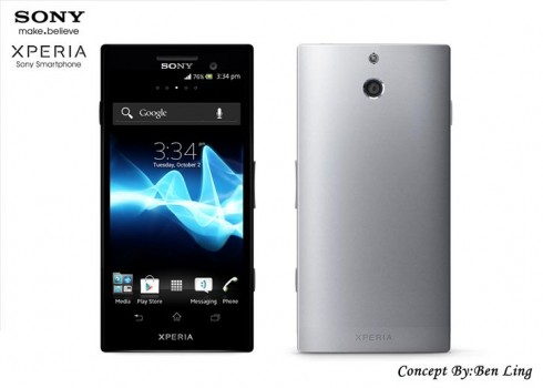 Sony Xperia PX Render Adopts a Different Back Design Than Usual