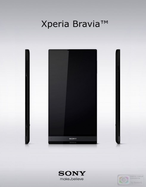 Sony Xperia Bravia by Frank Tobias is Here