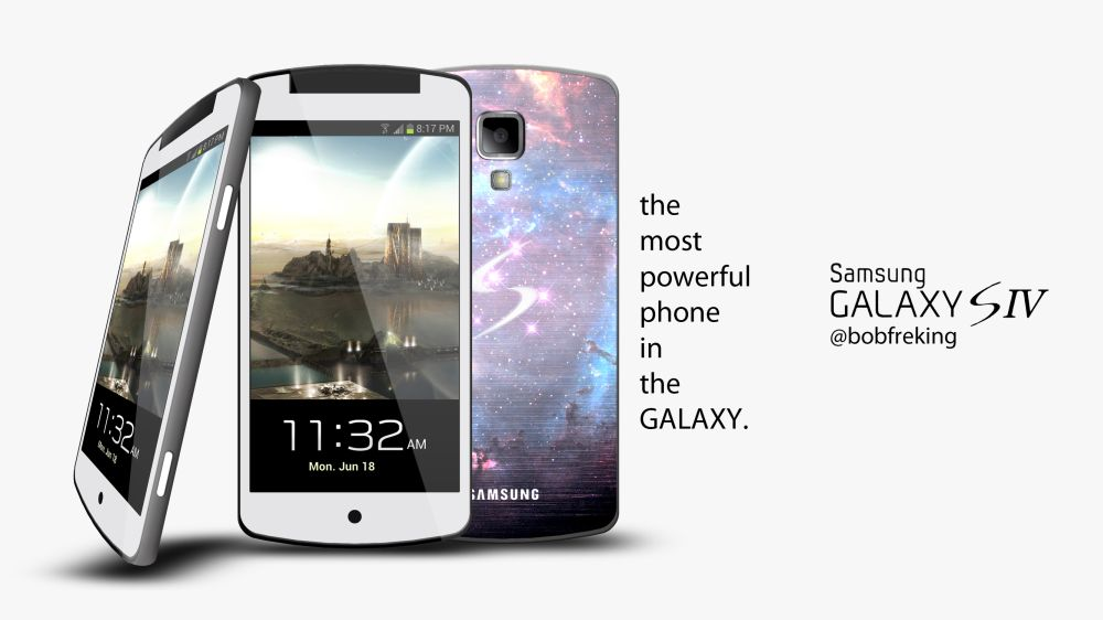 Samsung Galaxy S4 by Bob Freking is Back With More ...