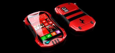 Windows Phone 8 Luxury Smartphone Reminds me of a Hot Ferrari Supercar