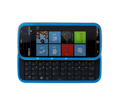 Nokia Lumia Xpress Music Phone Looks More Like a Communicator