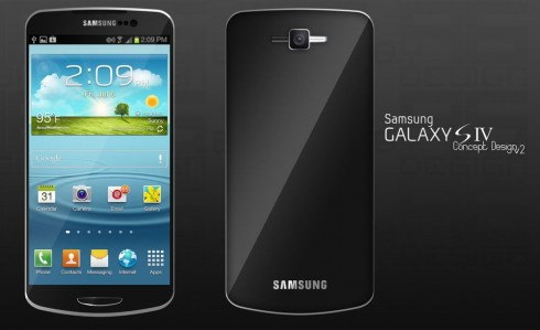 Samsung Galaxy S4 Concept Design in Two Versions; Which One Do You