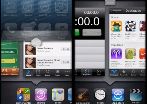 iOS 7 Concept Uses Quick Settings, App Flow Multitask(Video)