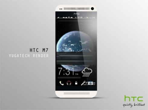 HTC M7 Picture Leaked, New Render Turns Into Something More Plausible