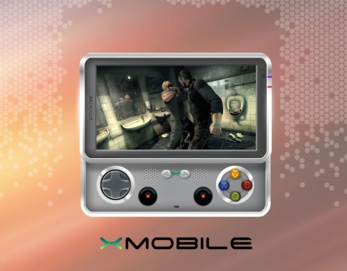 Microsoft X Mobile, an Xbox Mobile Device/Phone With Sliding Gaming Controls