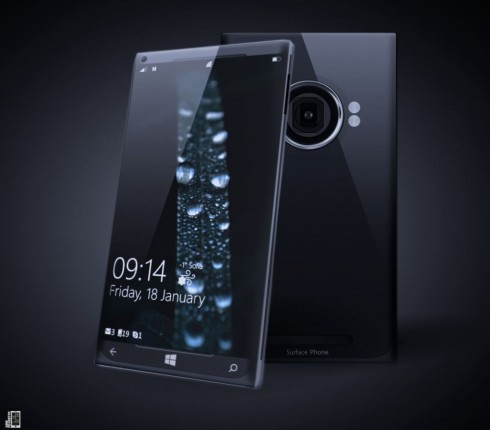 Yanko Andreev Presents: The Surface Phone Concept of 2013