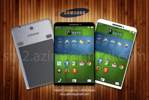 Samsung Galaxy Tab Concept Tablet is Actually Better Than the Galaxy Note 8.0