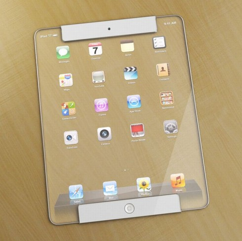 Futuristic Transparent iPad Concept Blew My Mind! (Video)