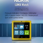 Nokia Lumia Watch, a Necessary Device Created by Mohammad Mahmi Azimi
