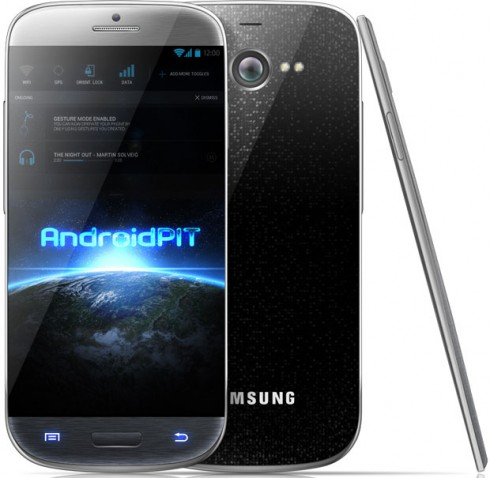 Samsung Galaxy S4 Render by Andrei Salaru for Androidpit.com