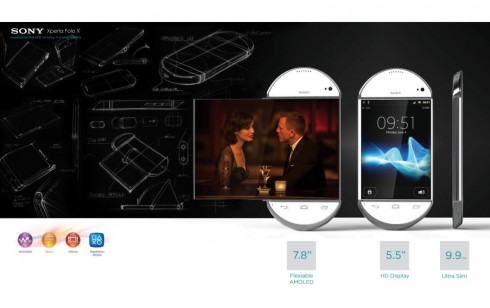 Sony Experia Folo X Combines a Phone and a Tablet Into 5.5 inch Full HD Device