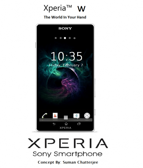 Sony Xperia Pro Sliding QWERTY Phone and Xperia W Renders Appear