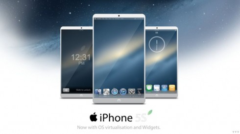 iPhone 5S Render Involves a Quad Core Apple A7 CPU, 4.7 Inch Retina Display