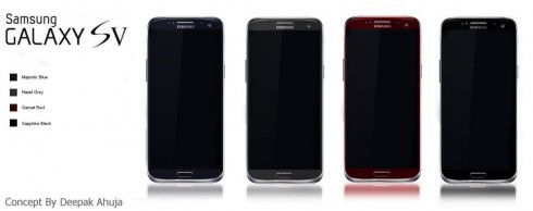 SAMSUNG Galaxy SV COLOURS