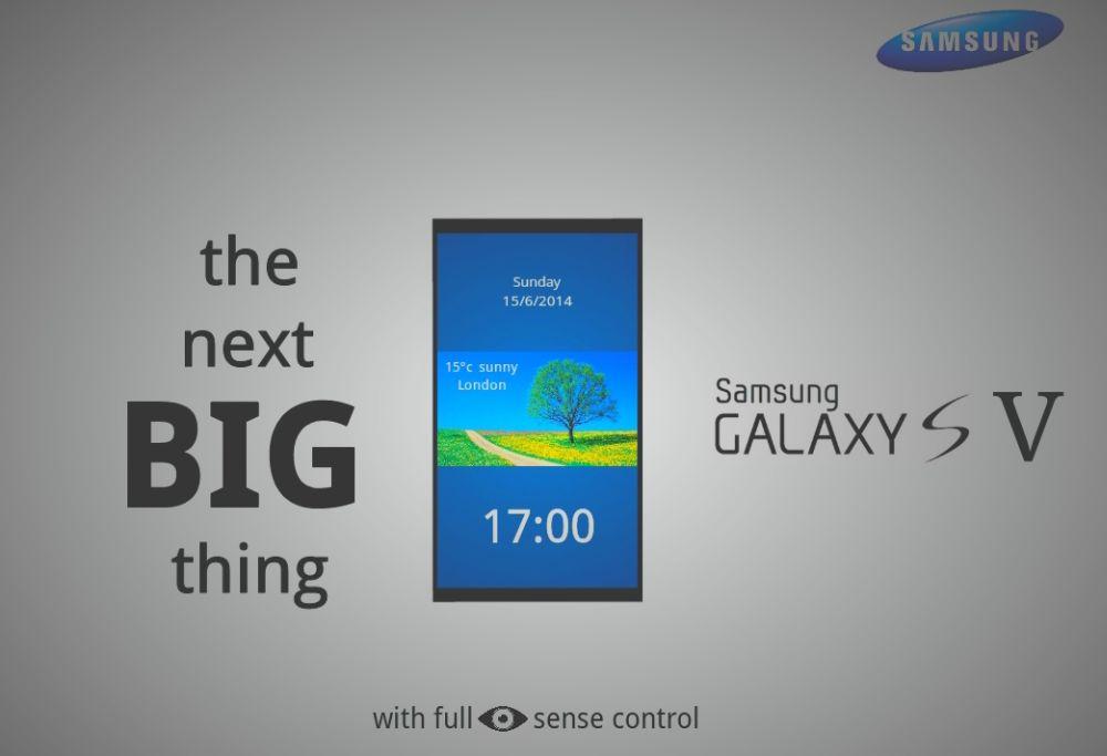 Теперь же он создал первый рендер следующего флагманского коммуникатора компании Samsung - модели Galaxy S5.