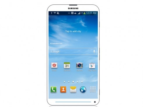 Samsung Galaxy S IV Design Places the Front Camera at the Bottom