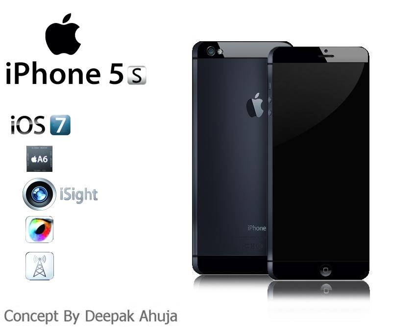Apple iPhone 5S Mockup Runs iOS 7.0, Has 12 MP Camera | Concept Phones
