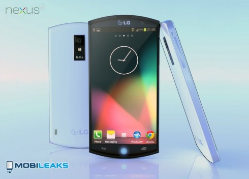 Nexus 5 Render is Supposedly Official, Has Strange Edges