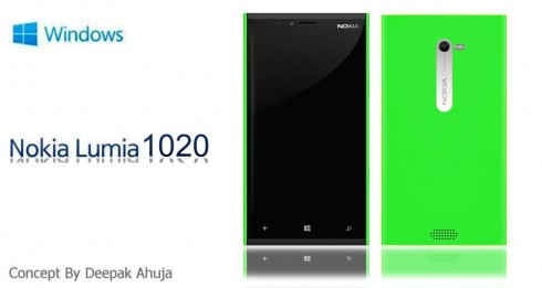Nokia Lumia 1020 Takes the Lumia 928 Design Further, Runs Windows Phone 8.5