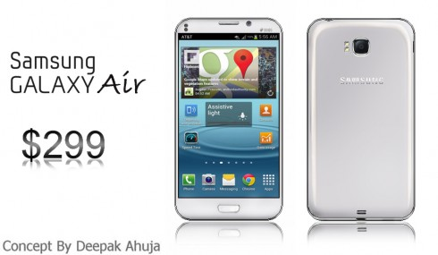 Samsung Galaxy Air: Concepts Dont Have to be High End