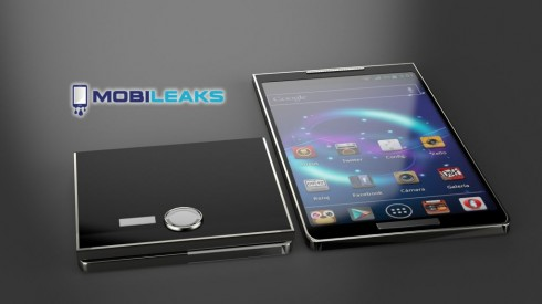 Samsung Galaxy S5 Concept is a Folding Device; 3D Detailed Render Here!