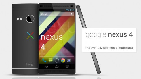 Google Nexus by HTC One, New Nexus 4 Concept by Bob Freking (Video)