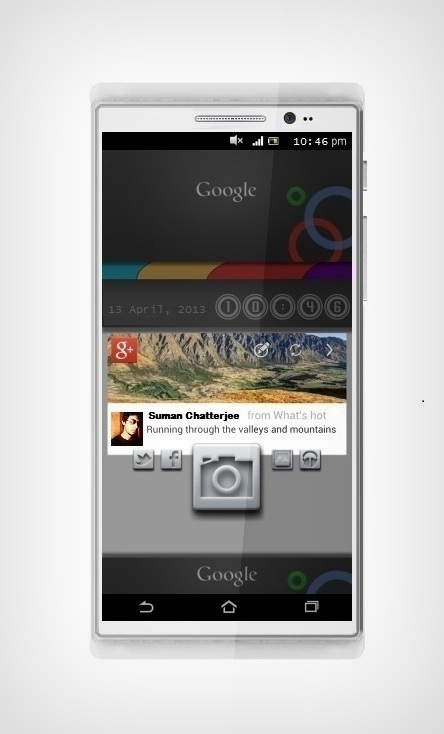 Google Socio Concept Phone is Focused on Social Networking
