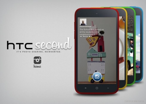 htc second instagram phone