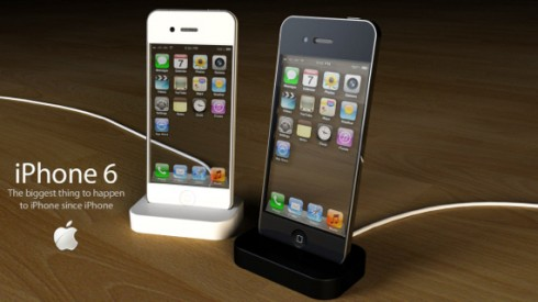 iPhone 6 Concept Uses Transparent Display, 10 Megapixel Camera