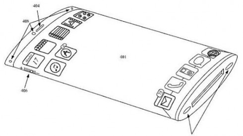 Curved iPhone Patent Turns Into a Render