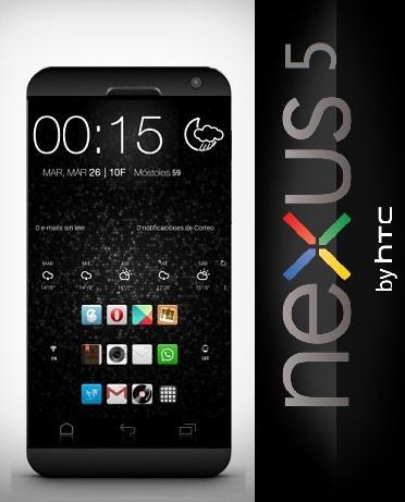 Nexus 5 by HTC, a Suman Chatterjee Mockup