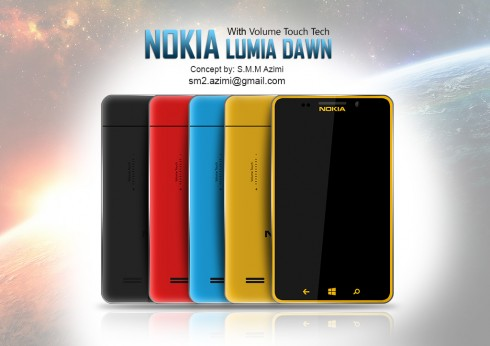 Nokia Lumia Dawn Features Touch Volume Buttons