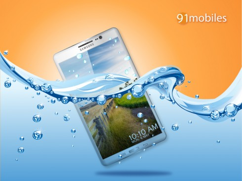 Samsung Galaxy S5 is Waterproof, Wide and Packs 4 GB of RAM