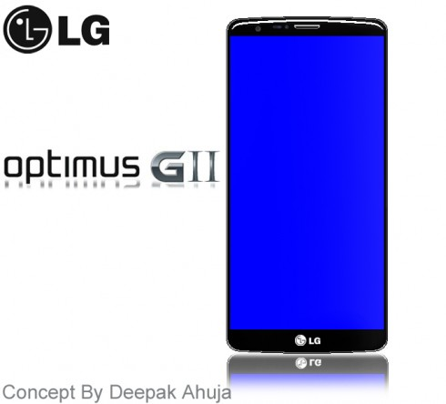 LG Optimus G2 Rendered by Deepak Ahuja