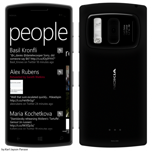 Nokia Lumia 1000 Runs Windows Phone 8 GDR 3, Has 4.8 1080p Screen