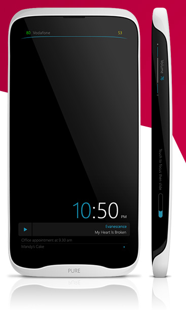 Pure Mobile Phone Render Looks Like a Revamped HTC From 2012