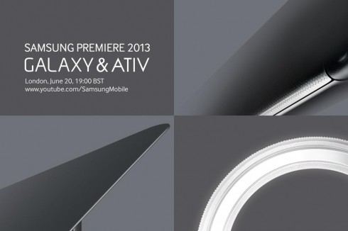 Samsung Premiere June 20th Event Teaser Turned into Renders: New ATIV, Galaxy S4 Zoom, Active?