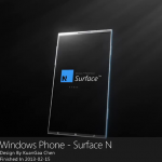 Windows Phone Surface N Has a Transparent 4K Display (Video)