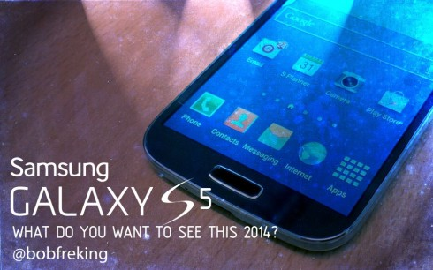 Samsung Galaxy S5: What do You Want to See in 2014? (Video)