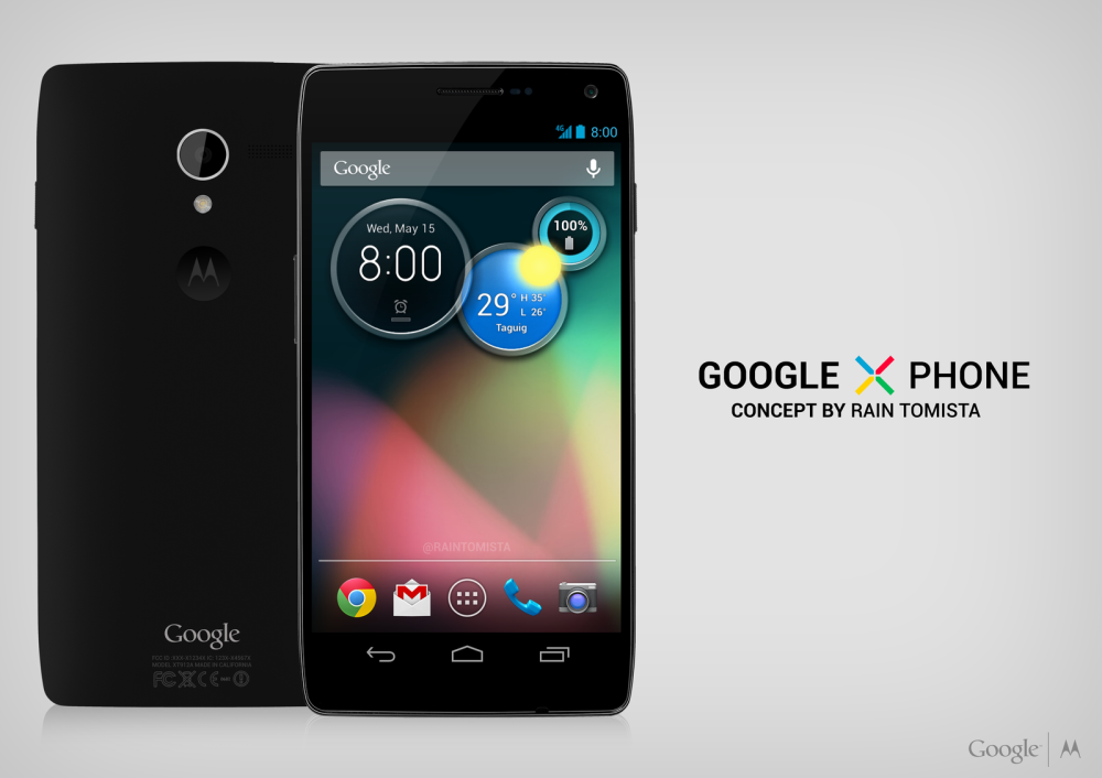 Google X Phone Concept Designed by 15 Year Old Boy From the ...