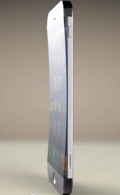 iPhone 6 With 3D Camera and Curved Metallic Design Gets Rendered (Video)