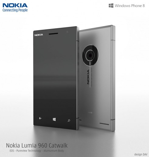 Nokia Lumia EOS Concept Phone With Aluminum Body Gets Rendered