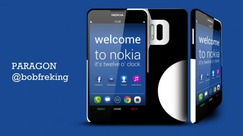 Nokia Paragon Runs Android With Nokia UI, Offers 3 Day Battery Life