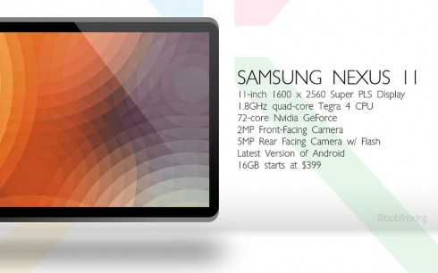Bob Freking Introduces: The New Nexus Family   Nexus 5, Nexus 11  and Nexus 8