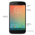 Android 5.0 UI and Lockscreen Concept by Jinesh Shah