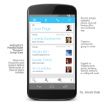 Android 5.0 Design Concept by Jinesh Shah Part 2: Multitasking and Dialer