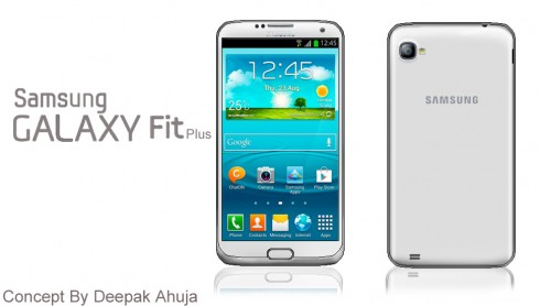 Samsung Galaxy Fit Plus, a Deepak Ahuja Concept
