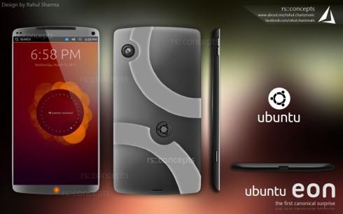 Ubuntu Eon Smartphone by Canonical, Designed by Rahul Sharma